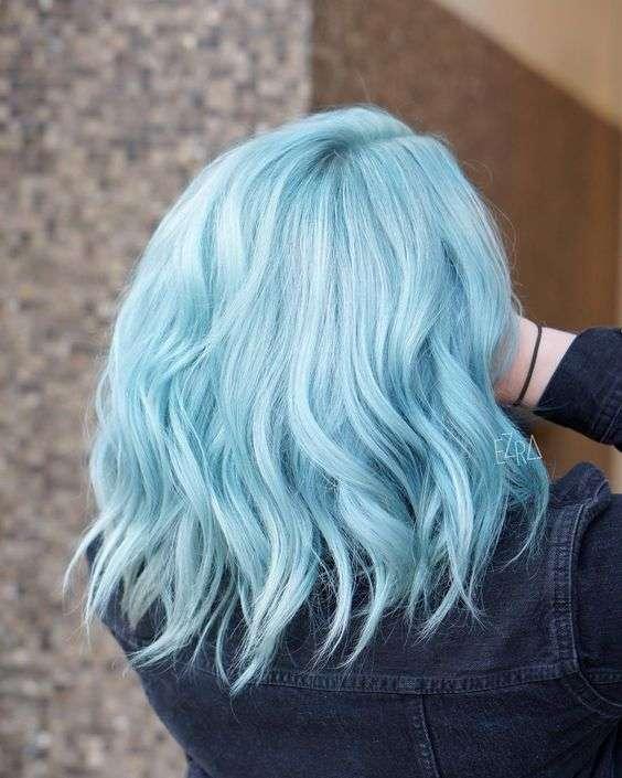 tóc màu pastel