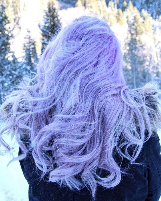 màu tóc pastel