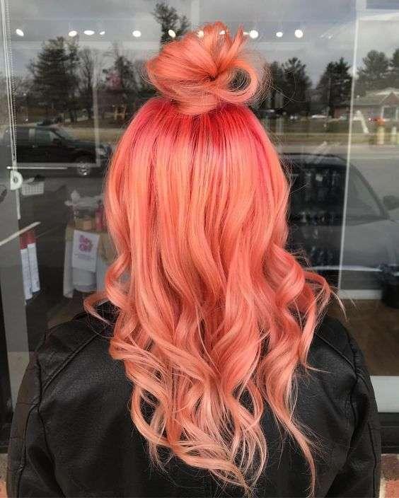 tóc đỏ san hô