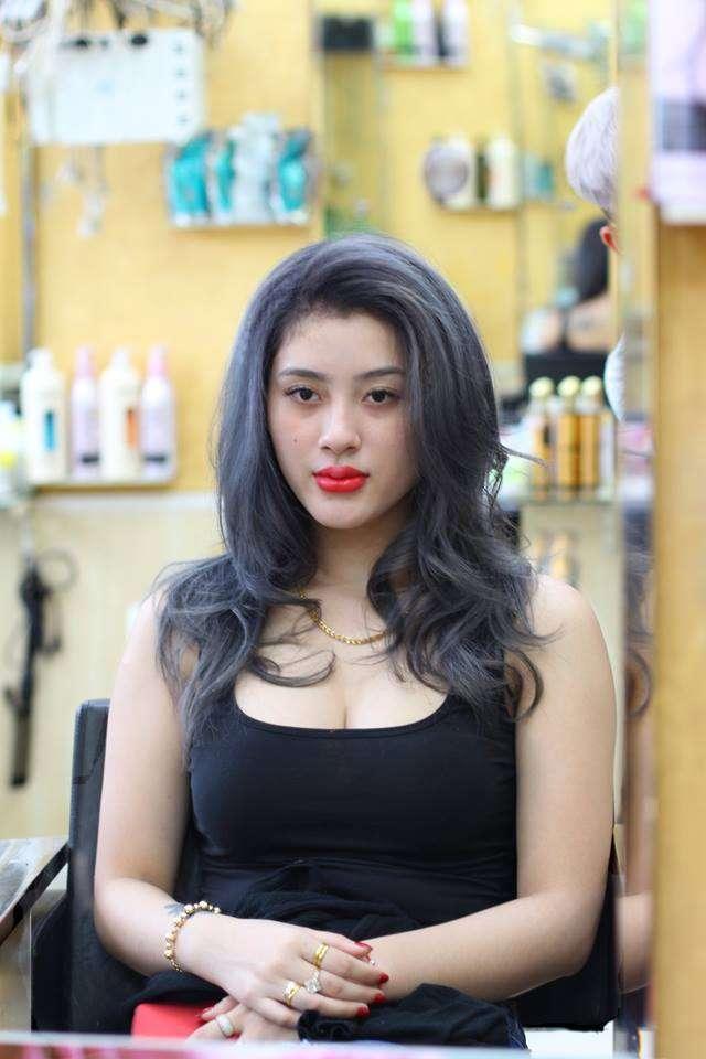 màu nhuộm đẹp tại salon tóc tình