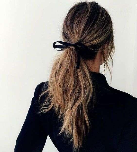 tóc cột lửng đẹp