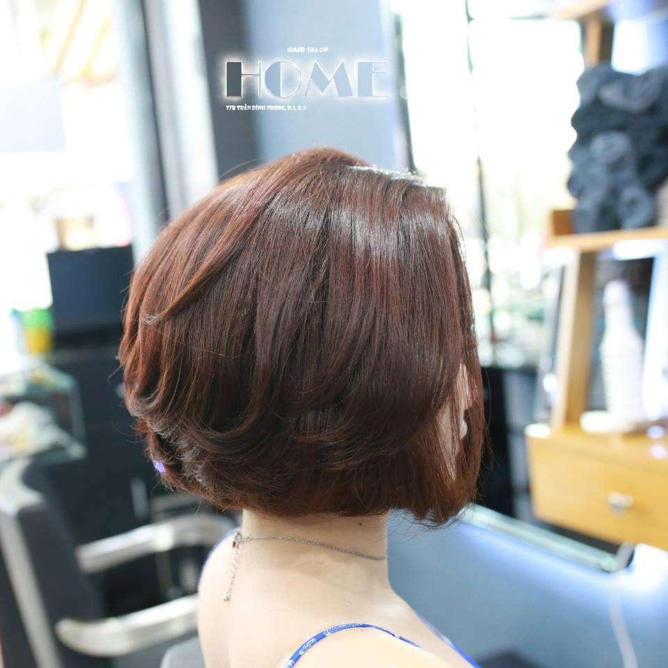 tóc ngắn home salon