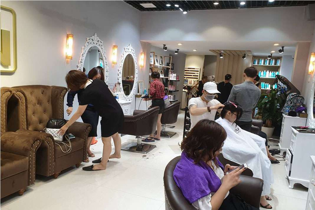 Vu Ngoc Vo Hair Salon - Tiệm làm tóc đẹp