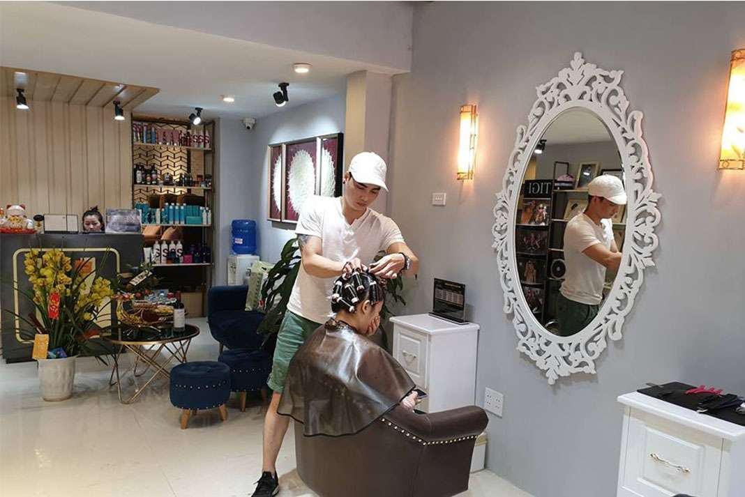 Vu Ngoc Vo Hair Salon Tiệm làm tóc đẹp