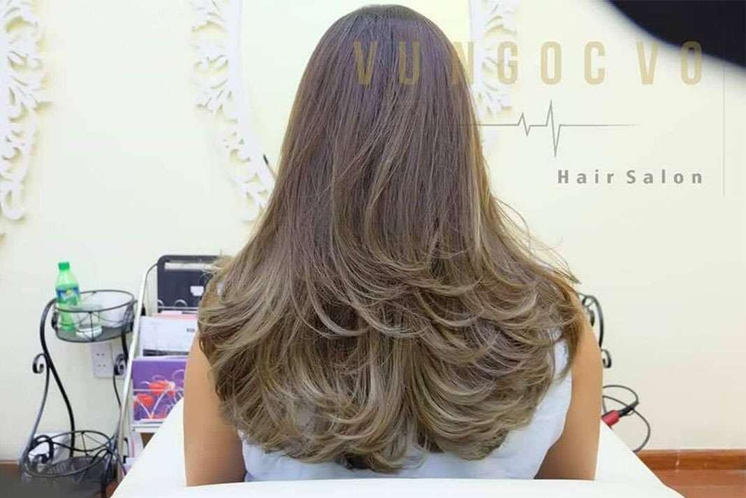 Vu Ngoc Vo Hair Salon 4 Tiệm làm tóc đẹp