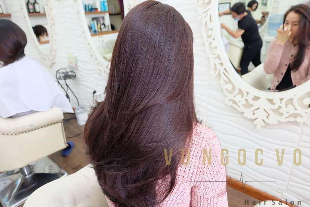 Vu Ngoc Vo Hair Salon 6 Tiệm làm tóc đẹp