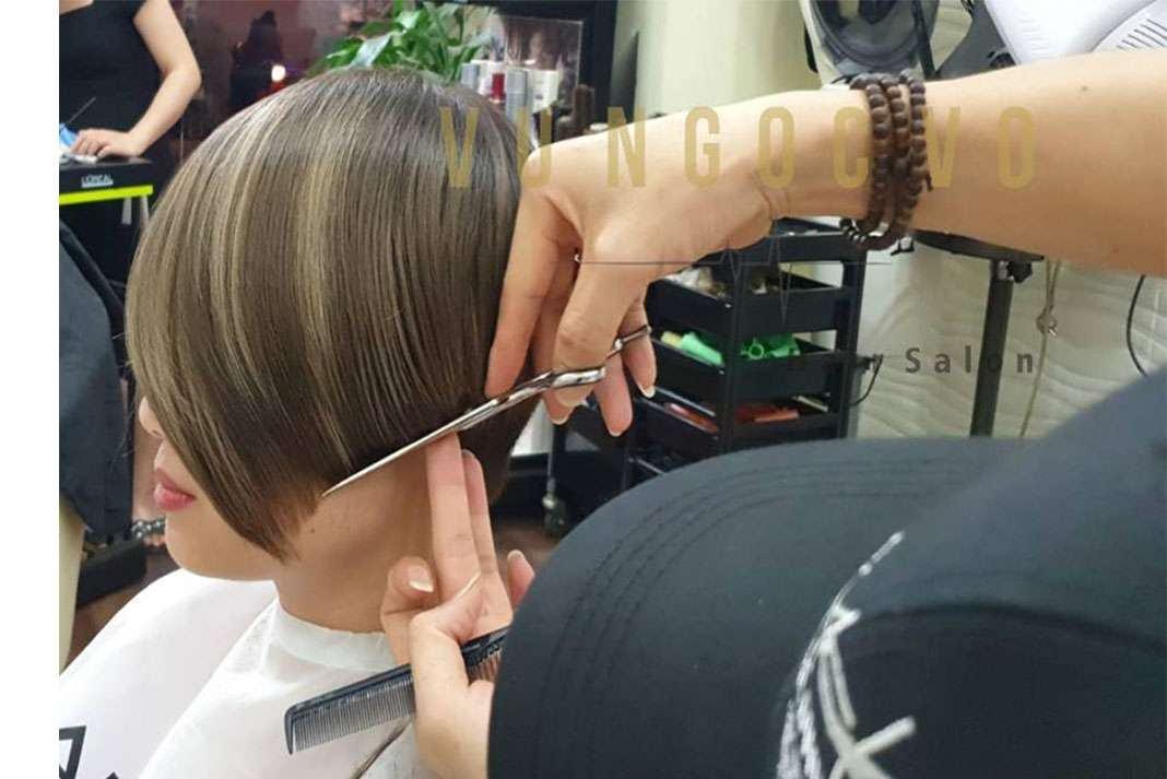 Vu Ngoc Vo Hair Salon 7 Tiệm làm tóc đẹp