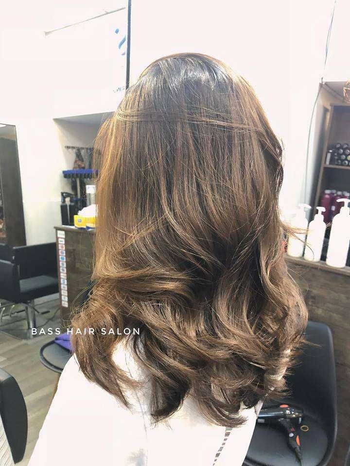 mẫu tóc đẹp tại Bass Hair Salon