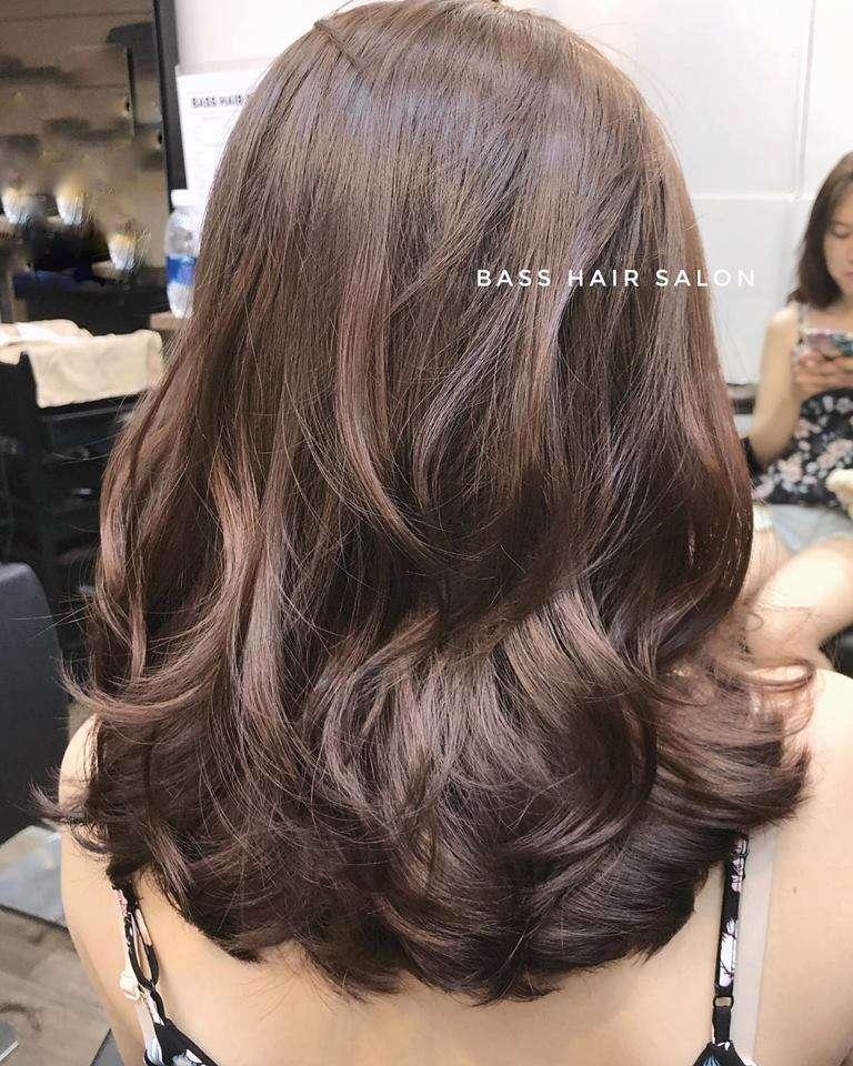 mẫu tóc đẹp tại Bass Hair Salon 1