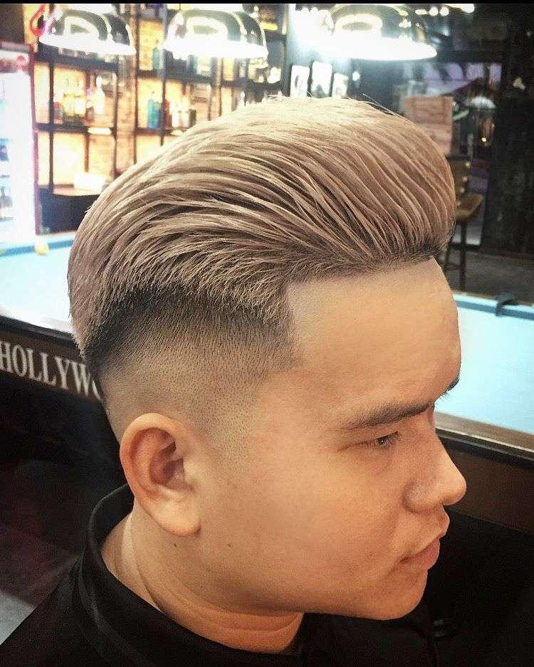tóc nam cực nam tính