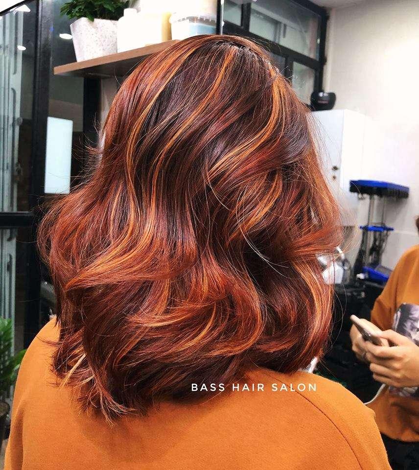 mẫu tóc đẹp tại Bass Hair Salon 3