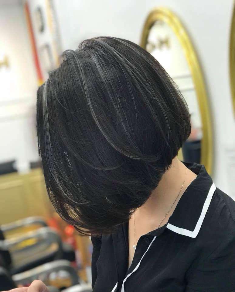 mẫu tóc hút mắt