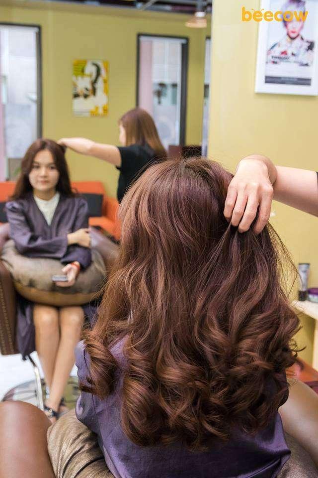 Tóc đẹp tại Hint Korean Hair Salon 1