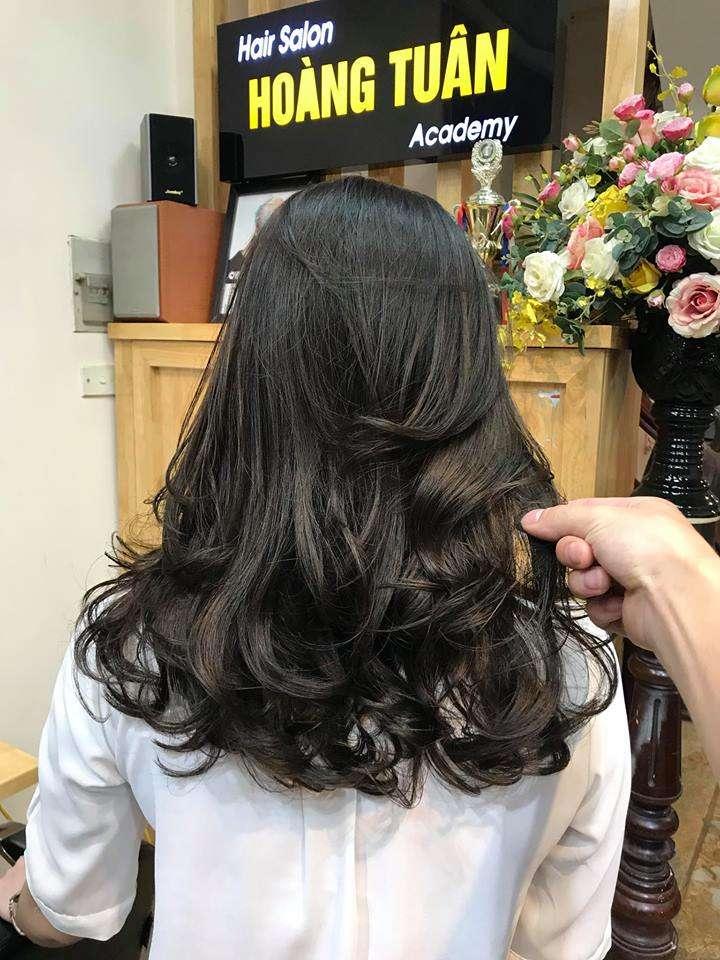 một kiểu tóc đẹp