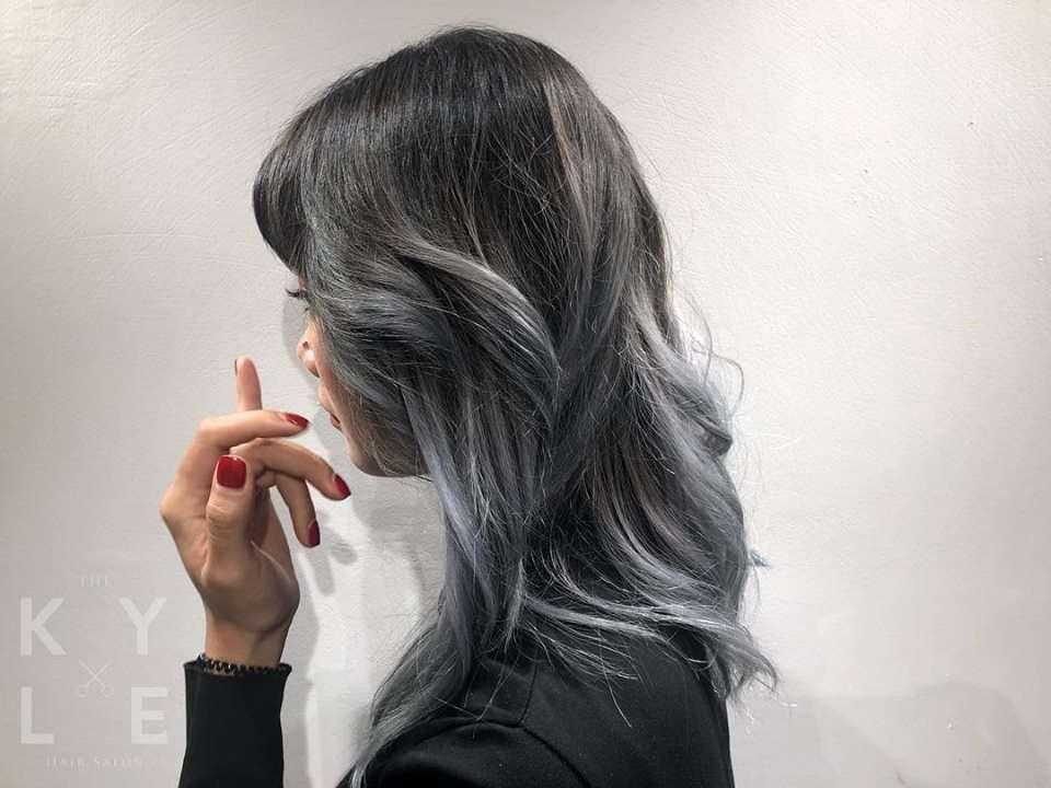 tóc màu chất