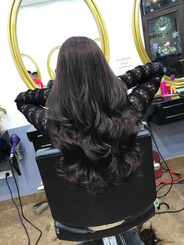 một kiểu tóc đẹp mới và sang