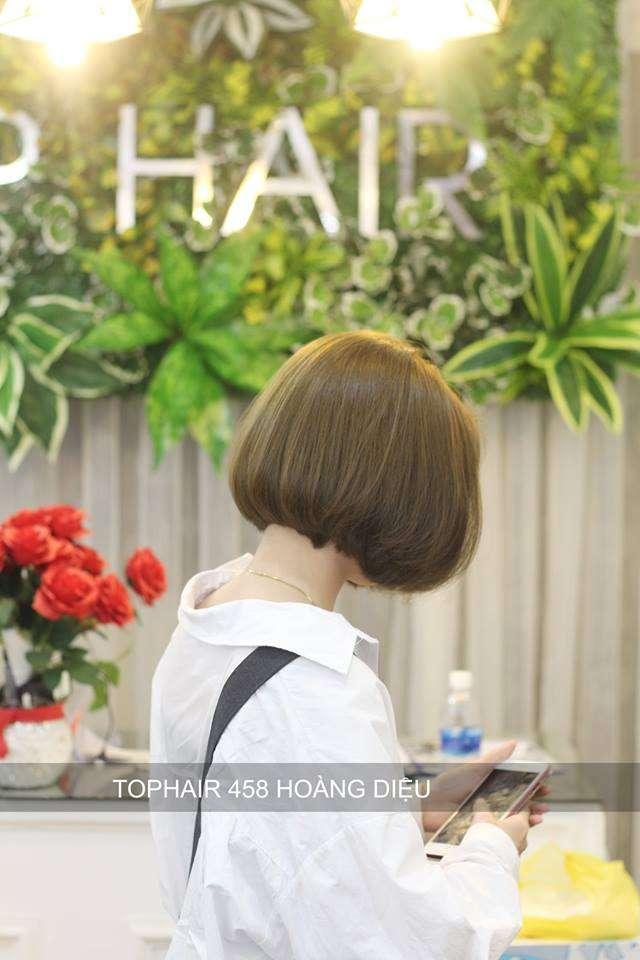 mái tóc bồng bềnh