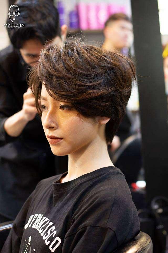 mái tóc đẹp chất