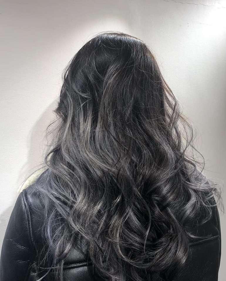 tóc nhuộm đẹp