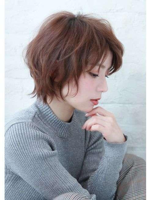kiểu tóc ngắn xinh