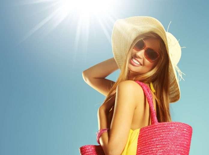 tránh nắng cho tóc