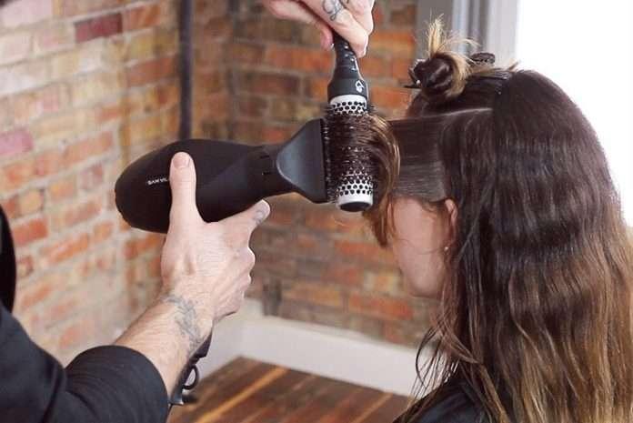 giúp tóc vào nếp