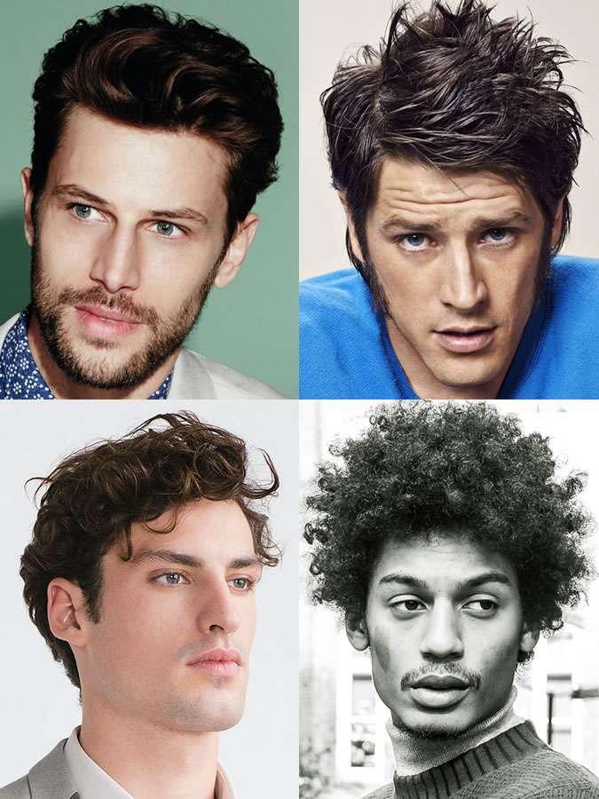 tóc phù hợp với mặt tam giác