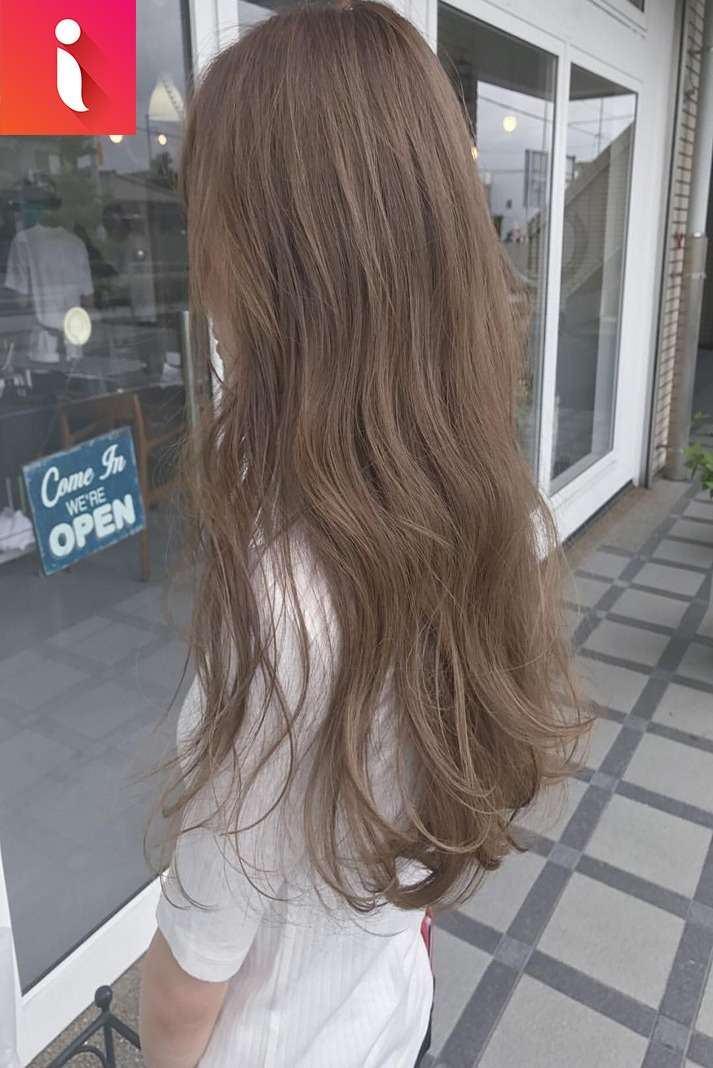 màu tóc nâu chocolate
