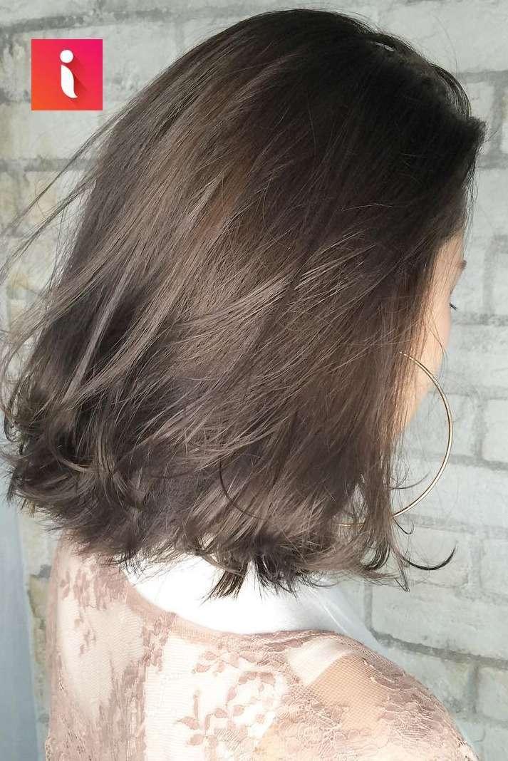 Nâu khói phù hợp với hầu hết mọi kiểu tóc khác nhau
