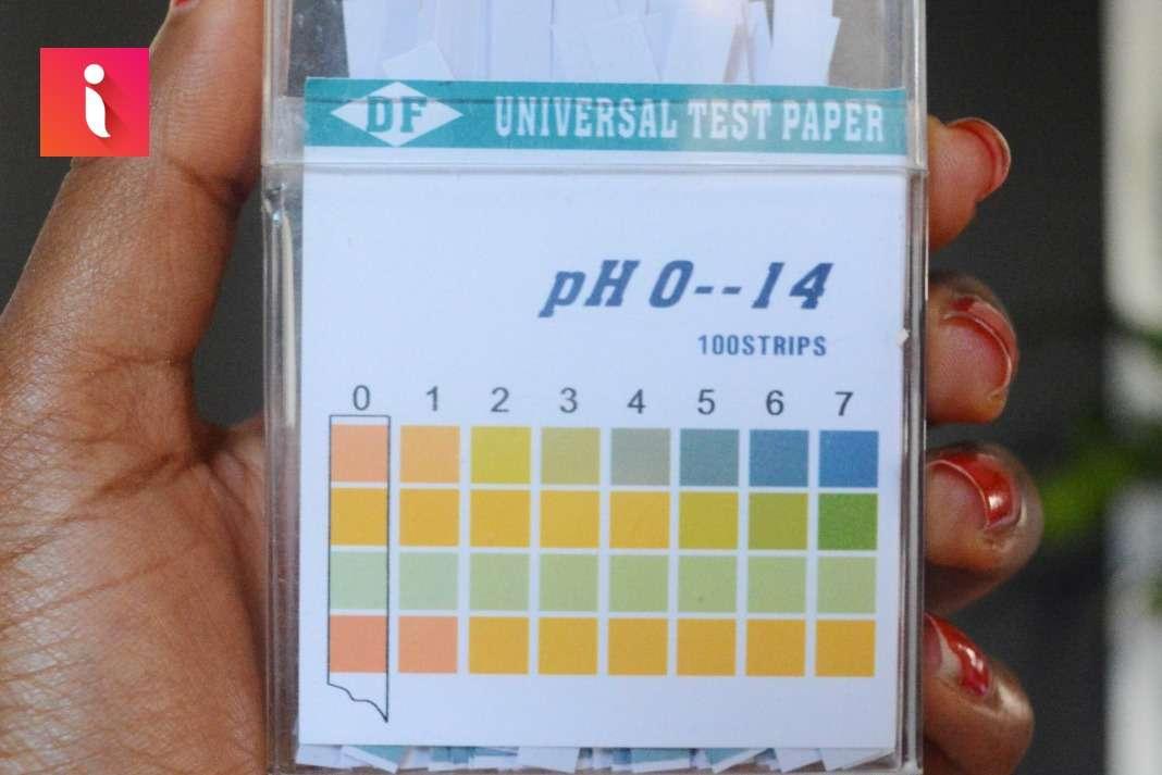 Có thể kiểm tra pH bằng quỳ tím