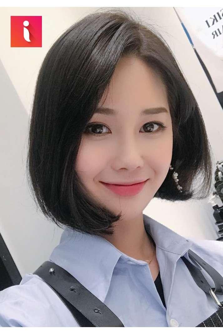 Những cô nàng Hàn Quốc rất ưa chuộng kiểu tóc ép đẹp này