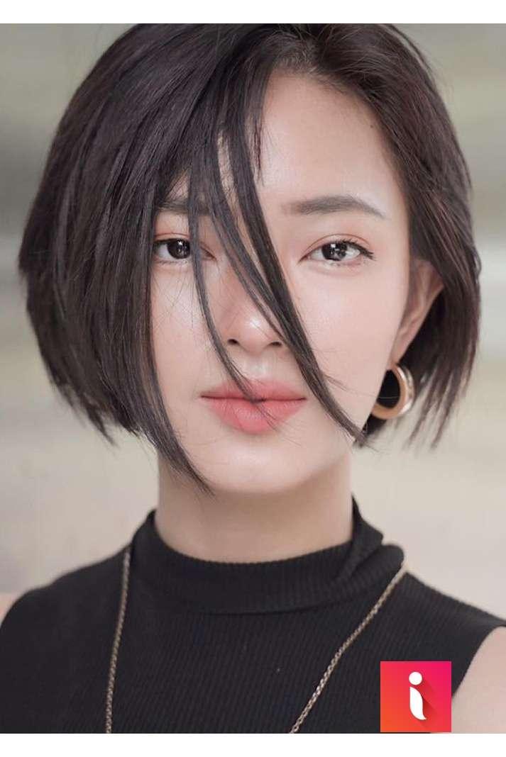 Châu Bùi là một trong những cô nàng thường xuyên chưng diện kiểu tóc này
