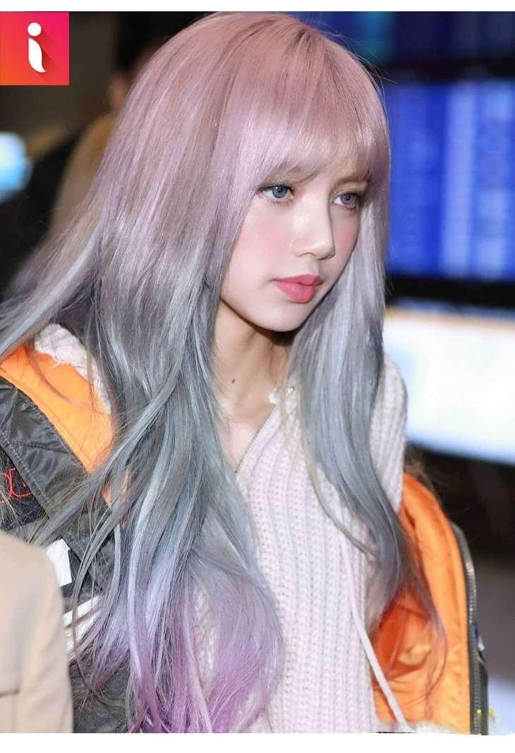 Lisa (Black Pink) đẹp rạng ngời với kiểu tóc Ombre
