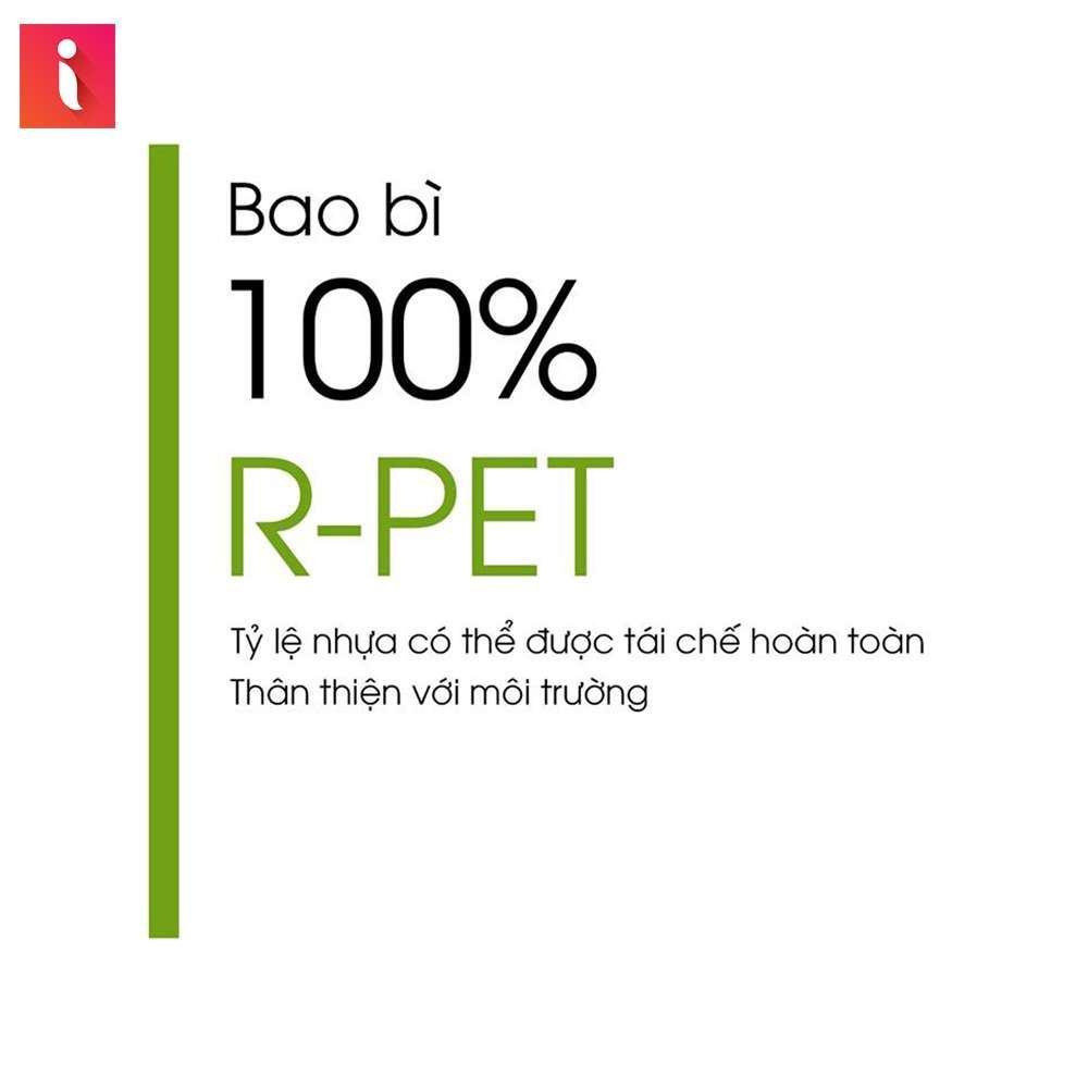 R-PET là loại nhựa hoàn toàn không gây hại với môi trường
