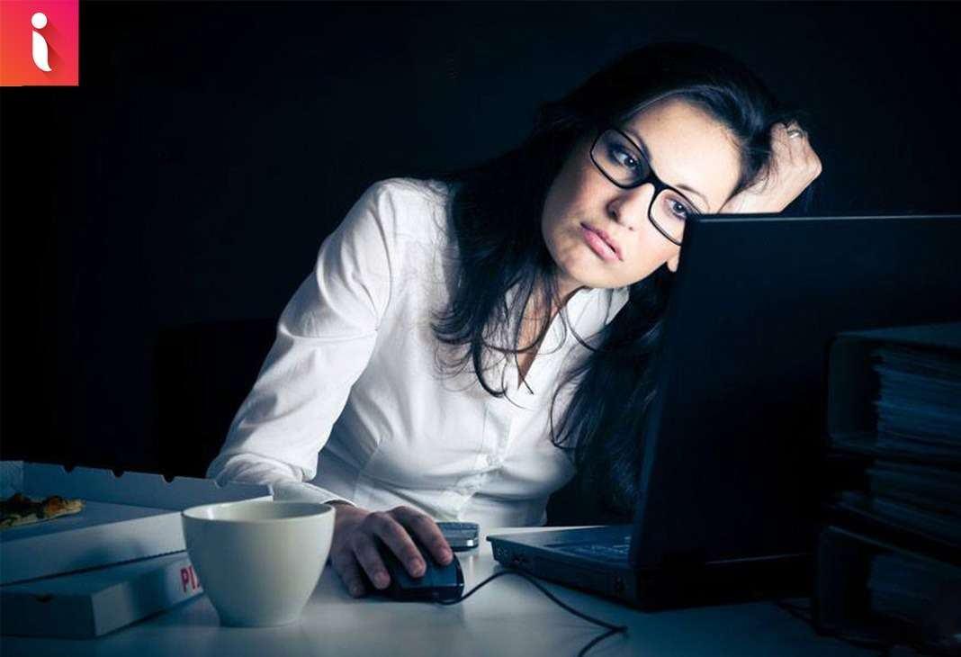 Thức đêm rất hại cho sức khỏe và vóc dáng