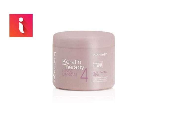 Mặt nạ Keratin Alfaparf Milanocó tác dụng giữ ẩm và làm mềm, mượt tóc.