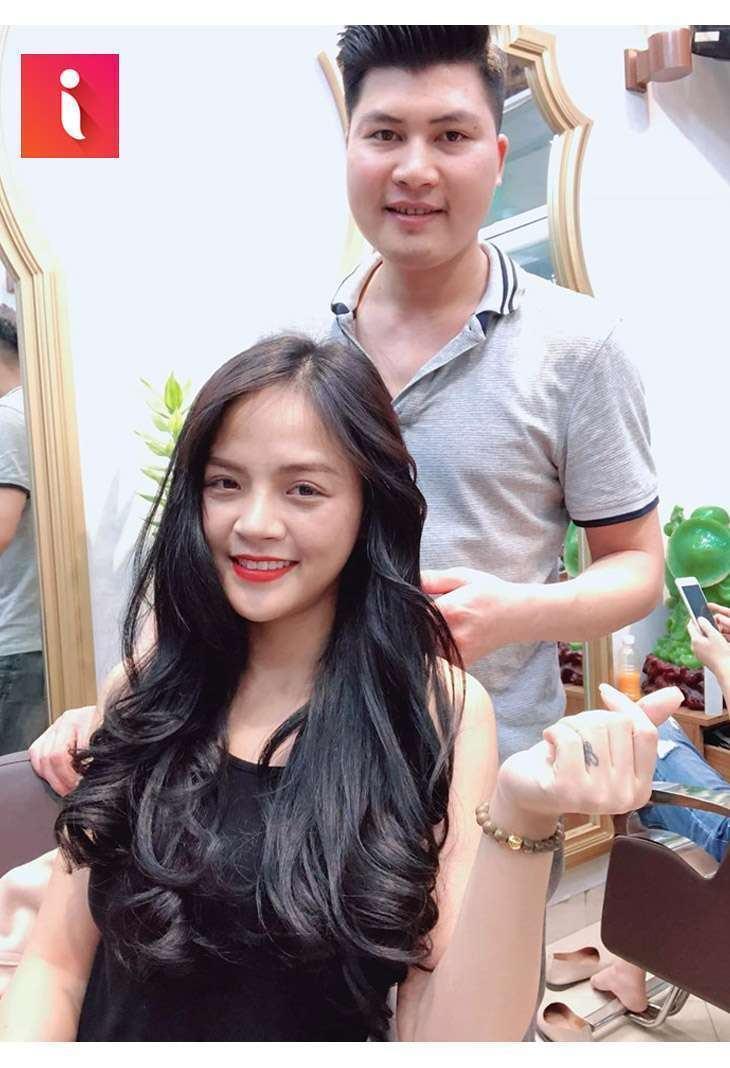 """Cao Hùng Hair Salon là điểm đến quen thuộc của Thu Quỳnh - """"My Sói"""""""