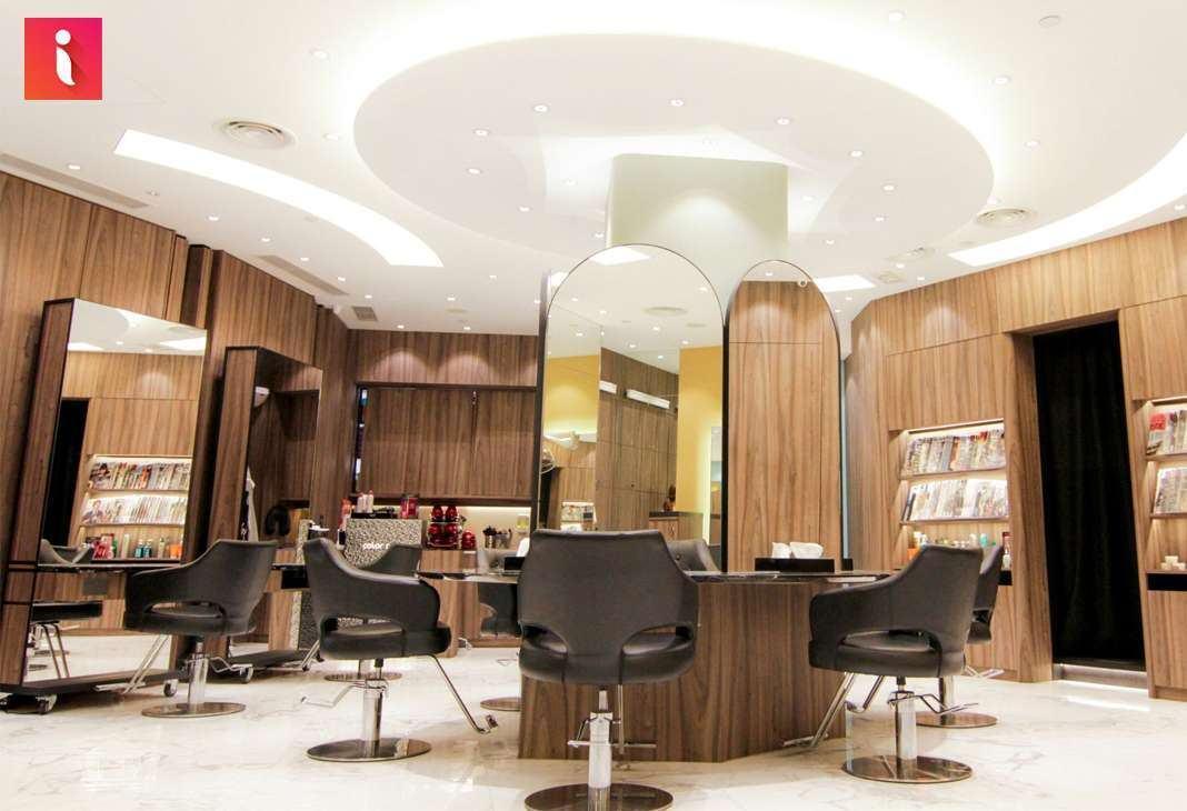 Phong cách thiết kế của các salon chuyên nghiệp vô cùng hiện đại và thời thượng