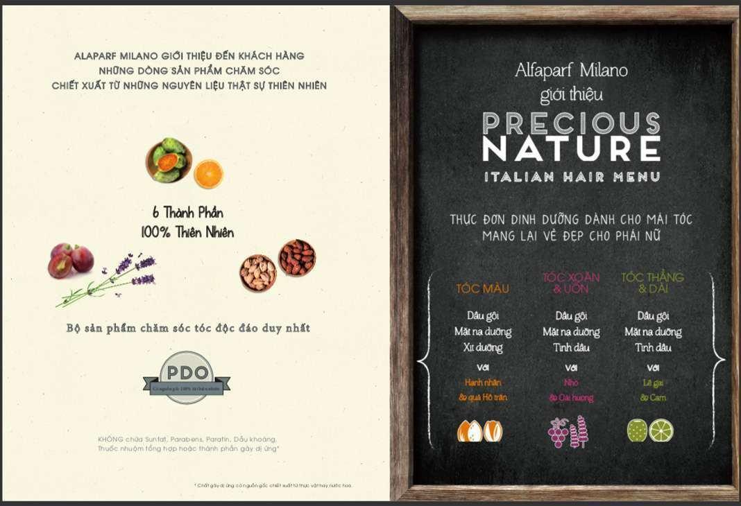 Precious Nature với đa dạng sản phẩm cho các mái tóc khác nhau