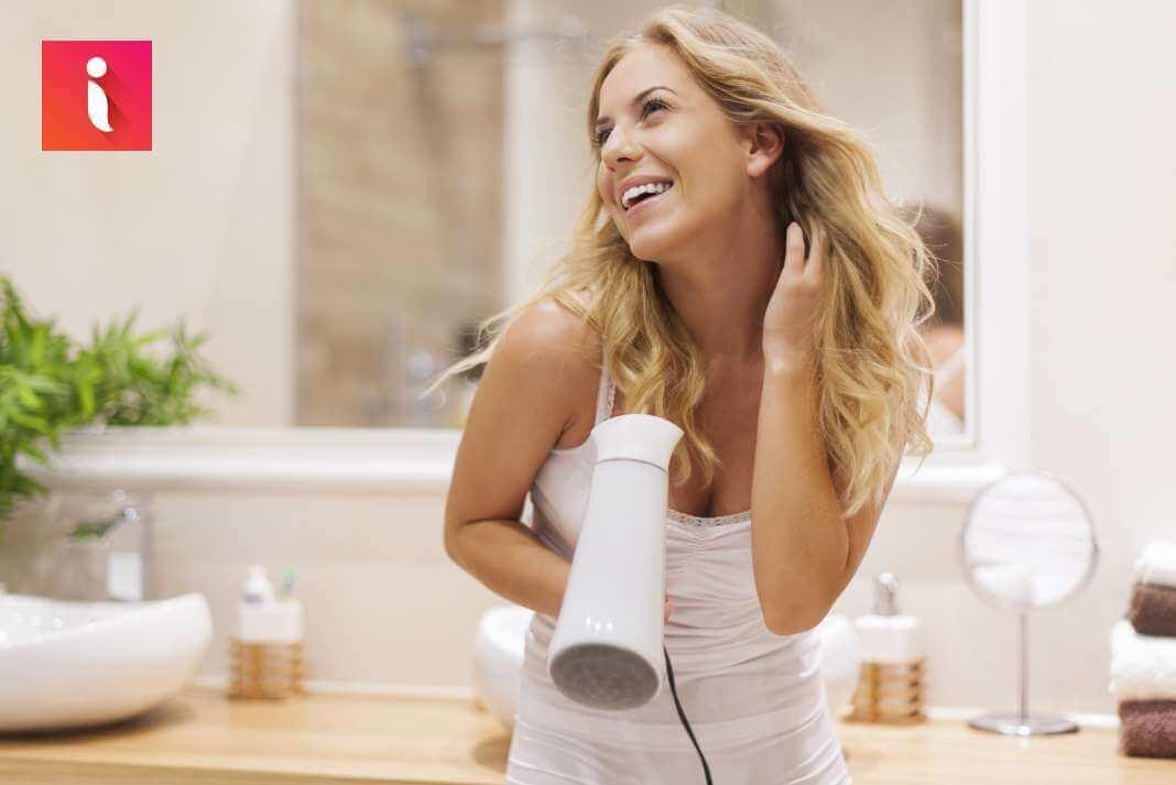 Sử dụng lô cuốn hay các phương pháp làm xoăn tại nhà sẽ rất an toàn cho tóc