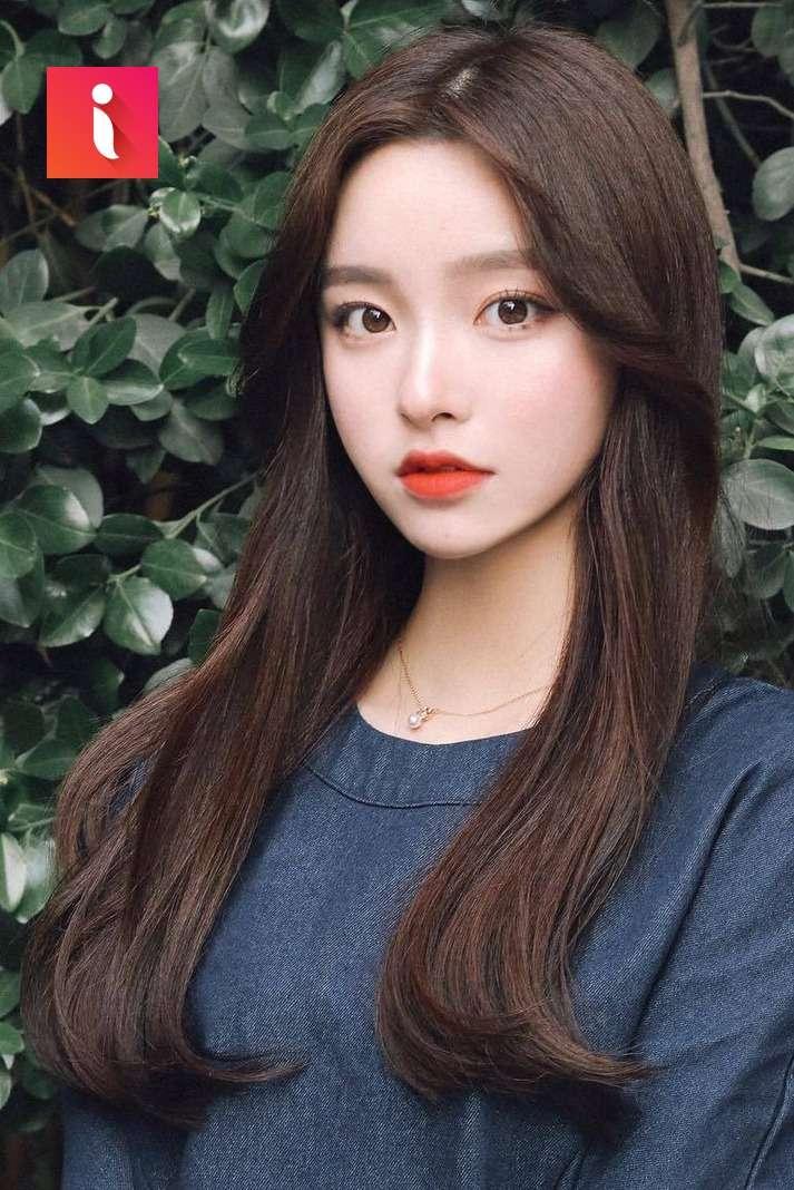 Kiểu tóc này là sự lựa chọn của rất nhiều cô nàng Hàn Quốc