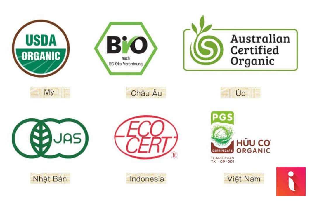 Một số cơ quan chứng nhận sản phẩm hữu cơ sạch