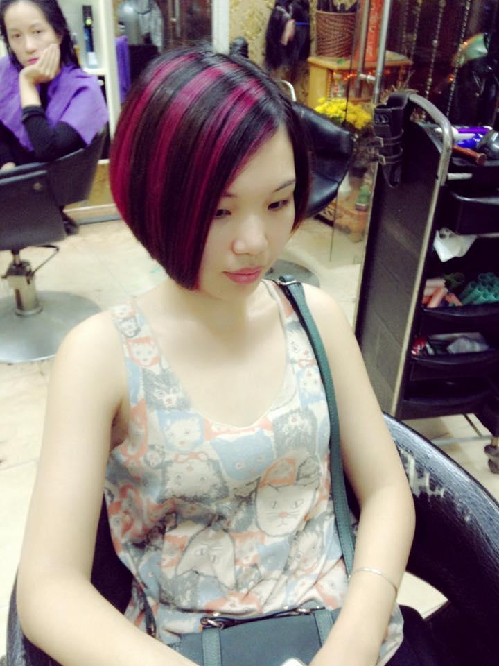 Kết quả hình ảnh cho Salon tóc Linh Nguyễn